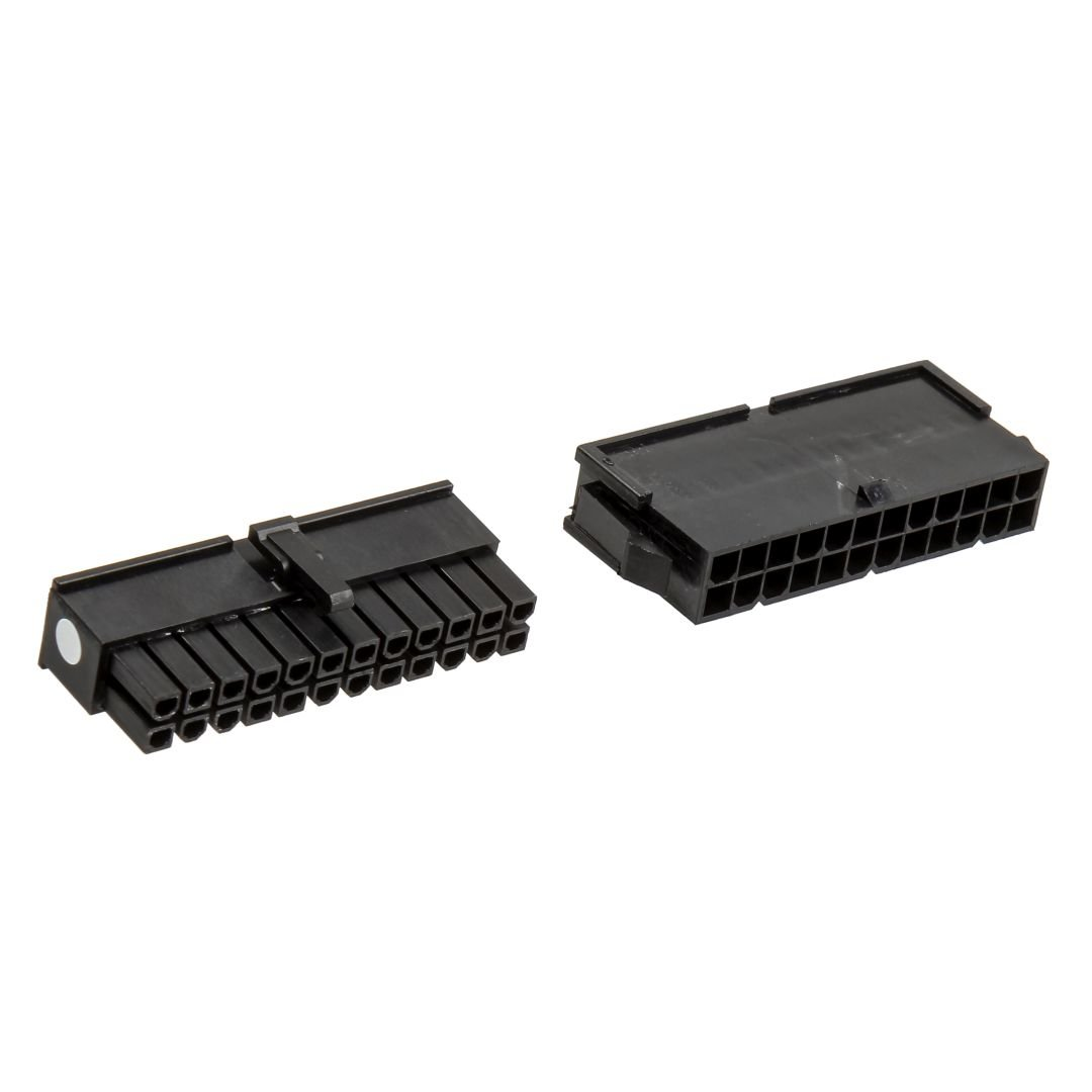 CableMod Connector Pack - 24 pin ATX - Black