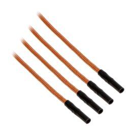CableMod ModFlex™ Sleeved Wires - Orange 16 inch - 4 Pack