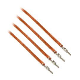 CableMod ModFlex™ Sleeved Wires - Orange 24 inch - 4 Pack