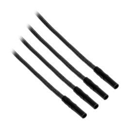 CableMod ModFlex™ Sleeved Wires - Black 8 inch - 4 Pack