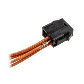 CableMod ModFlex™ Sleeved Wires - Orange 8 inch - 4 Pack