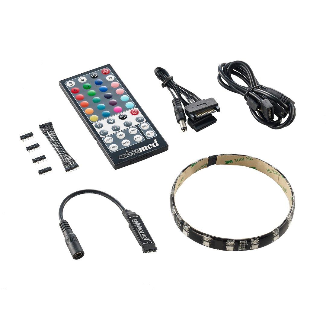 CableMod WideBeam Hybrid LED Kit - RGB / UV