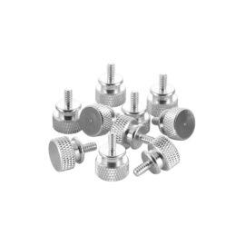 CableMod Anodized Aluminum Thumbscrews 10 Pack - UNC 6-32
