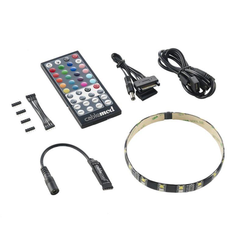 CableMod WideBeam Hybrid LED Kit - RGB / W