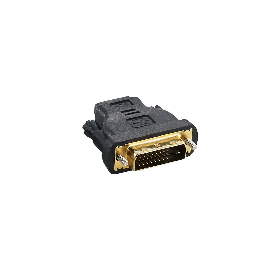 CableMod Basics DVI-D to HDMI Adapter Male to Female - Black