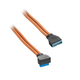 CableMod ModFlex Right Angle Internal USB 3.0 Extension 50cm
