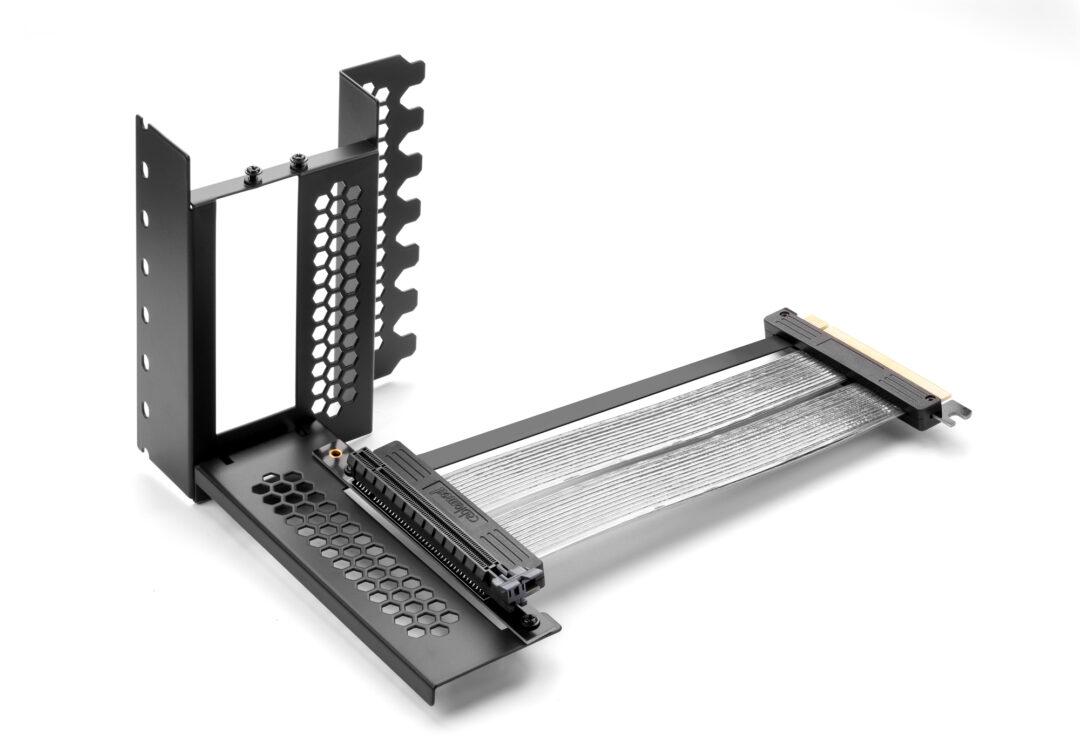 CableMod Vertical PCI-e Bracket PCI-e 4.0 Edition (Black, HDMI + DisplayPort)