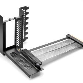 CableMod Vertical PCI-e Bracket PCI-e 4.0 Edition (Black, 2 x DisplayPort)